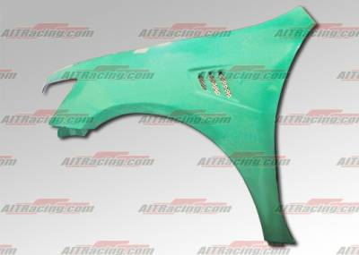 AIT Racing - Honda Accord AIT Racing MLB Style Fenders - HA03HIMLBFF4