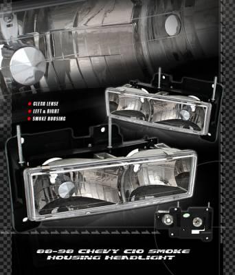 Custom - Euro Smoke Headlights