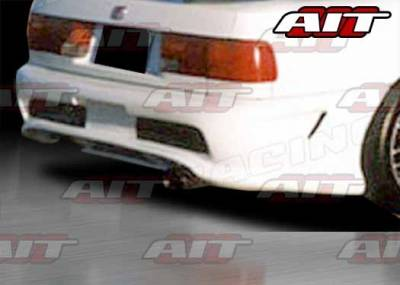 AIT Racing - Honda Accord AIT CBII Style Rear Bumper - HA90HICBIIRB
