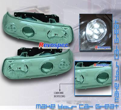 Custom - Chrome Halo Pro Headlights