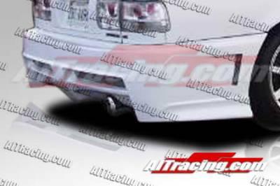 AIT Racing - Honda Accord AIT Racing Extreme Style Rear Bumper - HA90HIEXSRB