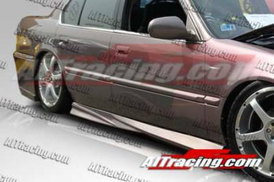 AIT Racing - Honda Accord AIT Racing Extreme Style Side Skirts - HA90HIEXSSS4