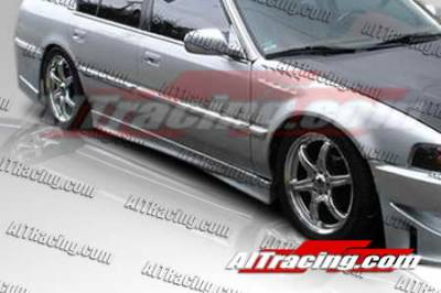 AIT Racing - Honda Accord AIT Racing M3 Style Side Skirts - HA90HIM3SSS4
