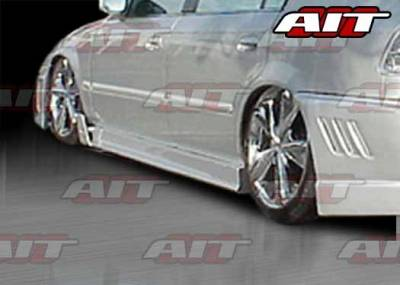 AIT Racing - Honda Accord 4DR AIT MGN Style Side Skirts - HA90HIMGNSS4
