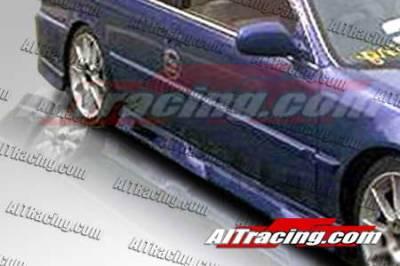 AIT Racing - Honda Accord AIT Racing Revolution Style Side Skirts - HA90HIREVSS4