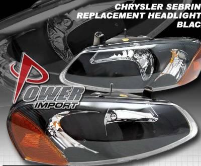 Custom - Black Diamond Headlights