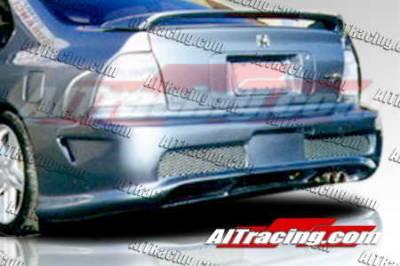 AIT Racing - Honda Accord AIT Racing Combat Style Rear Bumper - HA94HICBSRB