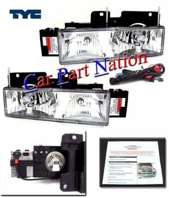 Custom - HID Clear Headlights