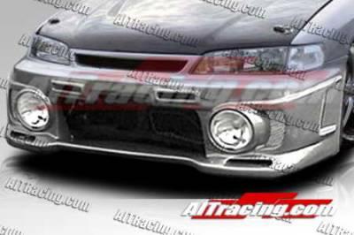 AIT Racing - Honda Accord AIT Racing EVO3-L Style Front Bumper - HA94HIEVO3FBL