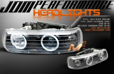 Custom - JDM Performance Halo Headlights