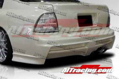 AIT Racing - Honda Accord AIT Racing Extreme Style Rear Bumper - HA94HIEXSRB