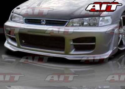 AIT Racing - Honda Accord AIT R34 Style Front Bumper - HA94HIR34FB
