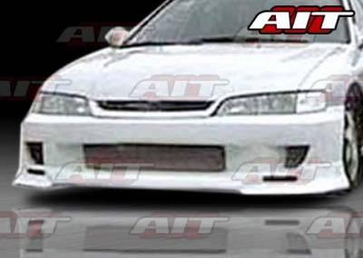 AIT Racing - Honda Accord AIT SFI Style Front Bumper - HA94HISFIFB