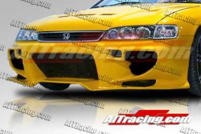 AIT Racing - Honda Accord AIT Racing VS2 Style Front Bumper - HA94HIVS2FB