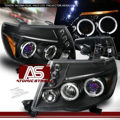 Custom - Black Halo LED Pro Headlights