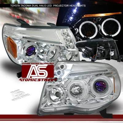 Custom - Chrome Halo LED Pro Headlights