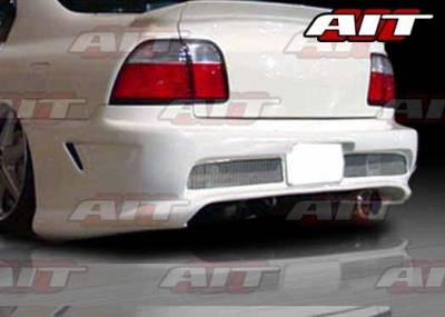 AIT Racing - Honda Accord AIT Combat Style Rear Bumper - HA96HICBSRB