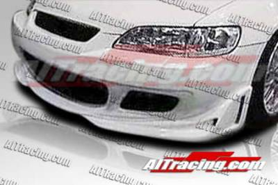 AIT Racing - Honda Accord AIT Racing Cyber Style Front Bumper - HA98HICYBFB2