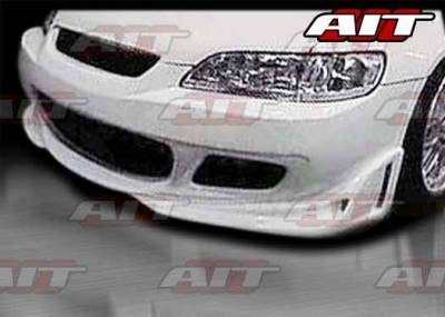 AIT Racing - Honda Accord 2DR AIT CYS Style Front Bumper - HA98HICYSFB2