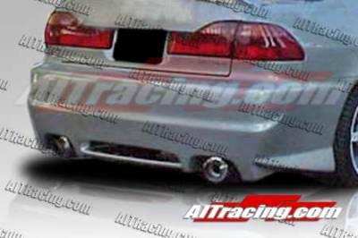AIT Racing - Honda Accord AIT Racing EVO2 Style Rear Bumper - HA98HIEVO2RB4