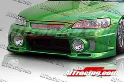AIT Racing - Honda Accord AIT Racing EVO3-L Style Front Bumper - HA98HIEVO3FBL2