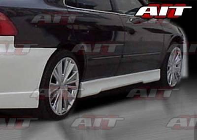 AIT Racing - Honda Accord 4DR AIT EVO4 Style Side Skirts - HA98HIEVO4SS4