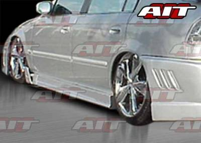 AIT Racing - Honda Accord 2DR AIT MGN Style Side Skirts - HA98HIMGNSS2