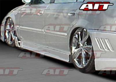 AIT Racing - Honda Accord 4DR AIT MGN Style Side Skirts - HA98HIMGNSS4