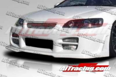 AIT Racing - Honda Accord AIT Racing R34 Style Front Bumper - HA98HIR34FB4