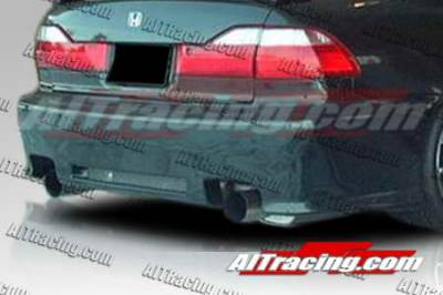 AIT Racing - Honda Accord AIT Racing Revolution Style Rear Bumper - HA98HIREVRB4