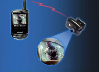 Vision - 1.3 LCD Color Camera Alarm Engine Start