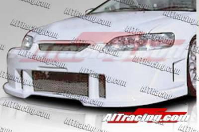 AIT Racing - Honda Accord AIT Racing SIN Style Front Bumper - HA98HISINFB2