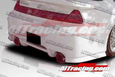 AIT Racing - Honda Accord AIT Racing SIN Style Rear Bumper - HA98HISINRB2