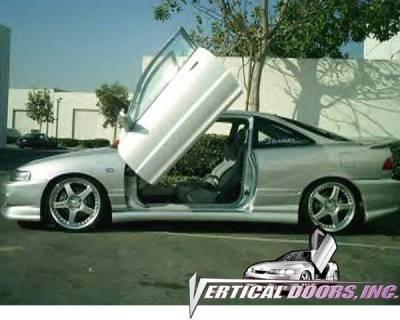 Vertical Doors Inc - Acura Integra VDI Vertical Lambo Door Hinge Kit - Direct Bolt On - VDCAI9401