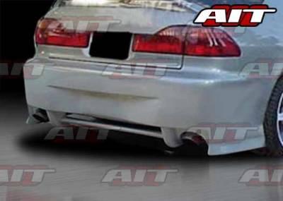 AIT Racing - Honda Accord 4DR AIT SIN Style Rear Bumper - HA98HISINRB4