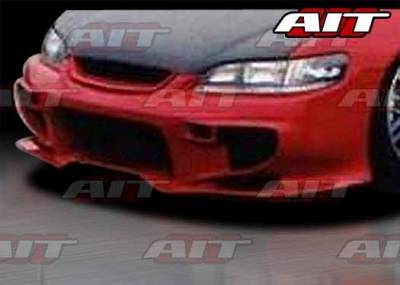 AIT Racing - Honda Accord 2DR AIT VS2 Style Front Bumper - HA98HIVS2FB2