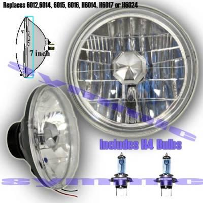 Custom - Chrome Diamond  Headlights
