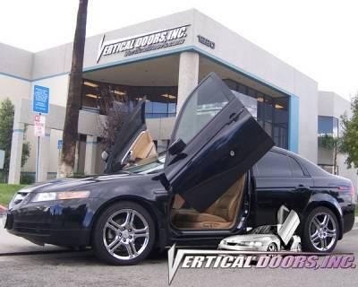 Vertical Doors Inc - Acura TL VDI Vertical Lambo Door Hinge Kit - Direct Bolt On - VDCATL0408