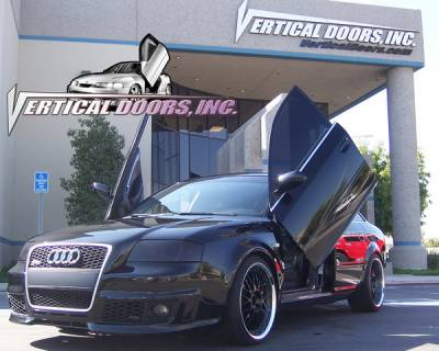 Vertical Doors Inc - Audi RS6 VDI Vertical Lambo Door Hinge Kit - Direct Bolt On - VDCAUDIRS60204