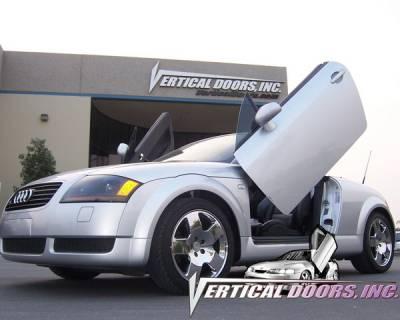 Vertical Doors Inc - BMW 3 Series 2DR VDI Vertical Lambo Door Hinge Kit - Direct Bolt On - VDCBMW399052DR