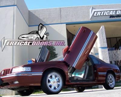 Vertical Doors Inc - Cadillac Eldorado VDI Vertical Lambo Door Hinge Kit - Direct Bolt On - VDCCADELD9202