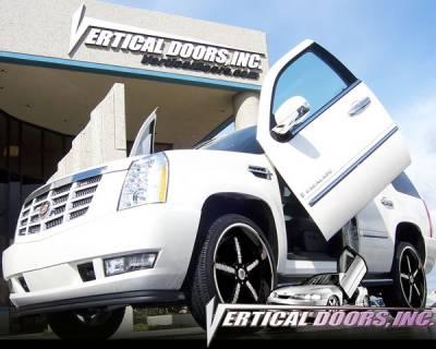 Vertical Doors Inc - Cadillac Escalade VDI Vertical Lambo Door Hinge Kit - Direct Bolt On - VDCCADESC0206