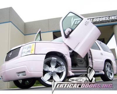 Vertical Doors Inc - Cadillac Escalade VDI Vertical Lambo Door Hinge Kit - Direct Bolt On - VDCCADESC9901