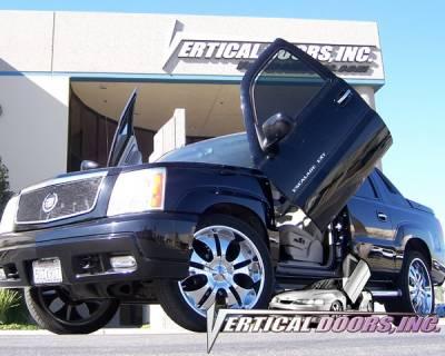 Vertical Doors Inc - Cadillac Escalade VDI Vertical Lambo Door Hinge Kit - Direct Bolt On - VDCCADEXT0206