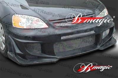 AIT Racing - Honda Civic AIT Racing Vascious Style Front Bumper - HC01BMVASFB