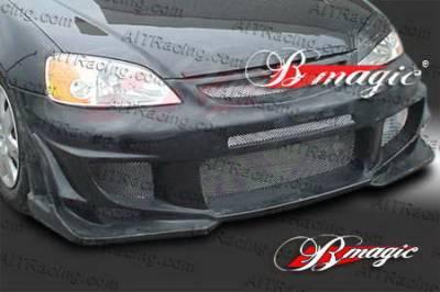 AIT Racing - Honda Civic AIT Racing Vascious Style Front Bumper - HC01BMVASFB2