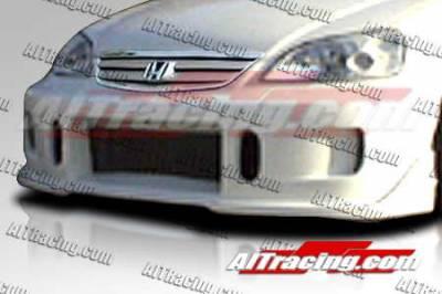 AIT Racing - Honda Civic AIT Racing BCN1 Style Front Bumper - HC01HIBCN1FB