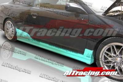 AIT Racing - Honda Civic 2DR AIT Racing BCN1 Style Side Skirts - HC01HIBCN1SS2
