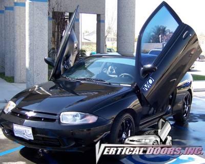 Vertical Doors Inc - Chevrolet Cavalier VDI Vertical Lambo Door Hinge Kit - Direct Bolt On - VDCCHEVYCAV9504