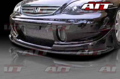 AIT Racing - Honda Civic 2DR AIT BCS Style Front Bumper - HC01HIBCSFB2